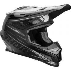 Thor Sector Warp Helmet Charcoal Black