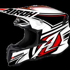 Avanger White/Red/Black Airoh Twist Helmet