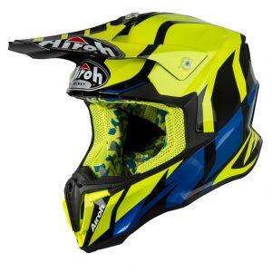 Great Yellow Gloss Airoh Twist Helmet