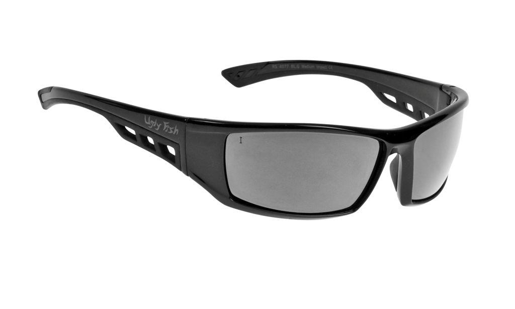 0e0629af1886 Ugly Fish RS4077 Glasses - Black Frame + Silver Lens ⋆ Motorcycles R Us