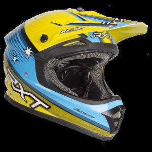 Yellow/Blue RXT Zeneth II Helmet